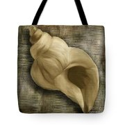 Seashell Abstract Tote Bag