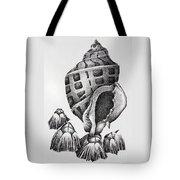 Seashell And Barnacles Tote Bag