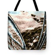 Seashell And Seaweed Tote Bag