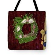 Seashell Wreathe Tote Bag
