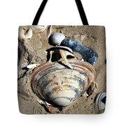 Seashells At Holgate Beach On Long Beach Island Tote Bag