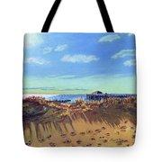Seashore Shadows Tote Bag