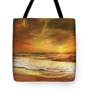 Seashore Sunset Tote Bag