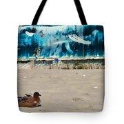 Seaside Art Gallery Tote Bag