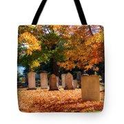 Seaside Cemetery Tote Bag