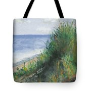 Seaside Tote Bag by Ginny Neece