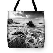 Seaside B/w  Tote Bag