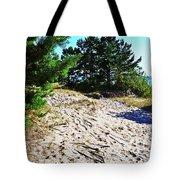 Seaside Path Tote Bag