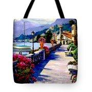 Seaside Pathway Tote Bag