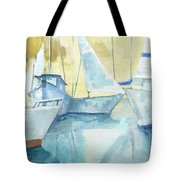 Seaside Sails Tote Bag