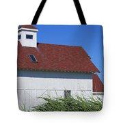 Seaside Schoolhouse Tote Bag