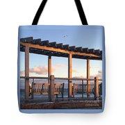 Seaside Seating  Tote Bag