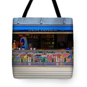 Seaside Shellfish Snack Shack Tote Bag