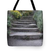 Seaside Steps Tote Bag