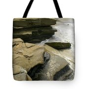 Seaside With Rocks On Left Tote Bag
