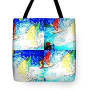 Seaside-regatta Tote Bag