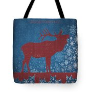 Seasonal Greetings Artwork Tote Bag