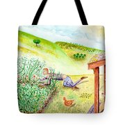 Seasons First Tomatoes Tote Bag