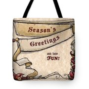 Season's Greetings Tote Bag