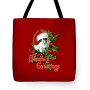 Seasons Greetings - Kitten Tote Bag