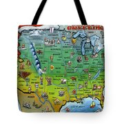 Seasons Greetings Usa Tote Bag