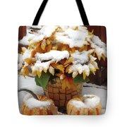 Seasons Meet And Greet Tote Bag