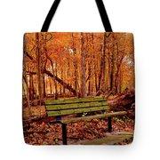Seat To Autumn Tote Bag