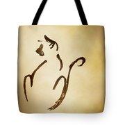 Seated Cat Tote Bag