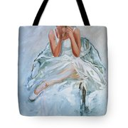 Seated Dancer Tote Bag