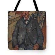 Seated Man  Tote Bag