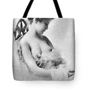 Seated Nude, C1865 Tote Bag