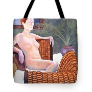 Seated Nude Tote Bag by Don Perino