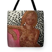 Seated Nude Tote Bag