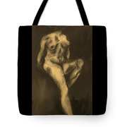 Seated Pose Tote Bag