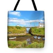 Seaton Sluice Harbour Tote Bag