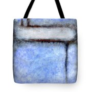 Seattle Afternoon Abstract Tote Bag