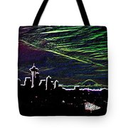 Seattle And Da Mountain Tote Bag