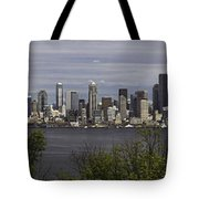 Seattle At Its Best Tote Bag
