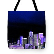Seattle Blue 2 Tote Bag