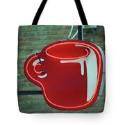 Seattle Coffee Shop Tote Bag