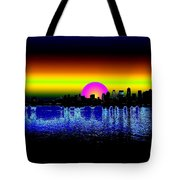 Seattle Dawning Tote Bag