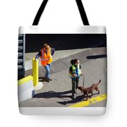 Seattle Dock Dog Workers 1 Tote Bag