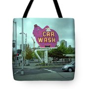 Seattle - Elephant Car Wash 2 Tote Bag