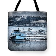 Seattle Ferry Tote Bag