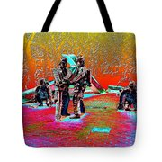 Seattle Fire Fighter Memorial Tote Bag