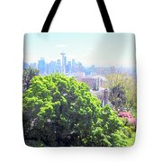 Seattle From A Hill Tote Bag