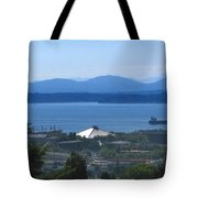 Seattle From Above Tote Bag