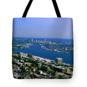 Seattle From Space Needle Tote Bag