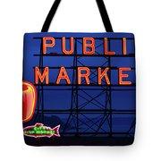 Seattle Glow Tote Bag