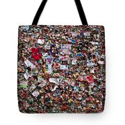 Seattle Gum Wall #2 Tote Bag